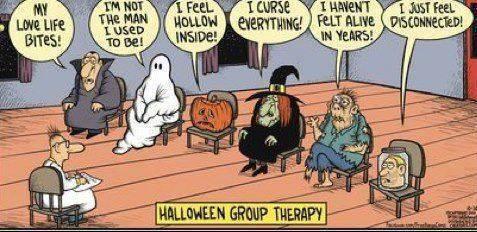 Halloween comics & funny pics